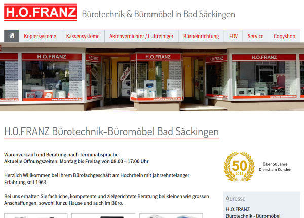 H.O.FRANZ Bürotechnik